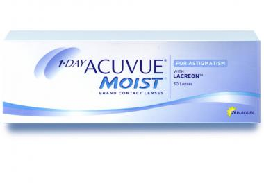 1•Day Acuvue MOIST for Astigmatism