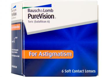 PureVision for astigmatism (Toric)