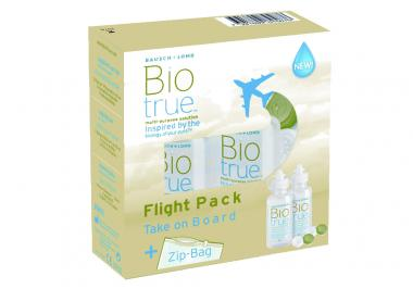 Biotrue 120ml Flight Pack