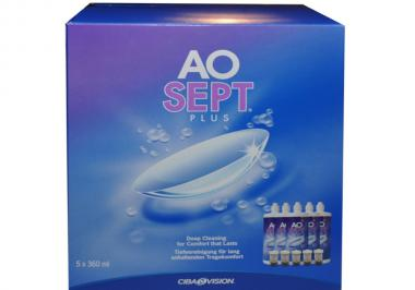 AOSept Plus 6 Monate Pack (5x360ml)